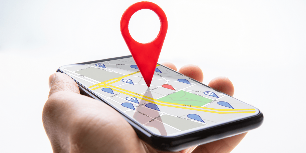 click and collect : google maps destination